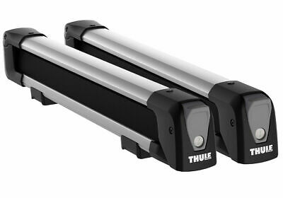 Thule 7324 Snow Pack Roof Carrier For 4 Ski Pairs Or 2 Snowboards  • 120£