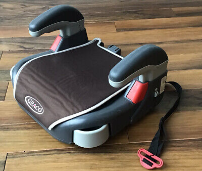 GRACO Childs Car Booster Seat With Retractable Cup Holders - Used • 3£