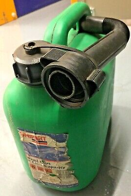Genuine UNIPART 5L Green Unleaded Petrol Fuel, Water Can  • 2.99£