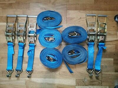Ratchet Straps And Ratchets X5 50mm And X14 40mm • 50£