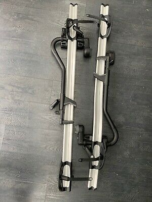 A Pair Of BMW 82712166924 Touring Bicycle Holders For Car Roof  - Hardly Used • 80£