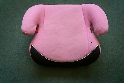 Pink Car Booster Seat For Child Age 4-12 Years Or 15kg-36kg By LAPTRONIX • 2£