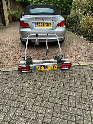 Genuine BMW Bike Rear Mounted Carrier + Lights - Used Condition - 2 Bikes • 75£