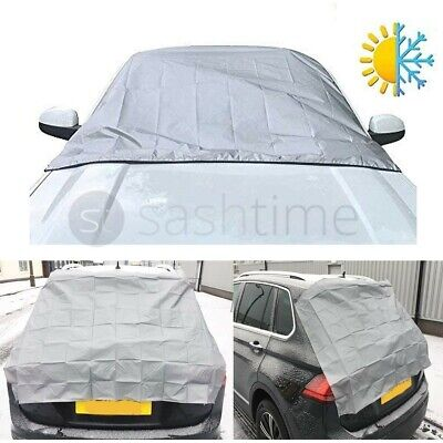 2 X Magnetic Car Windscreen Cover Ice Frost Shield Snow Protector Sun Shade Van • 4.99£