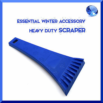 Ice Scraper For Car Windows Cleaning Scraping Heavy Duty Winter Anti Frost ABS • 2.73£