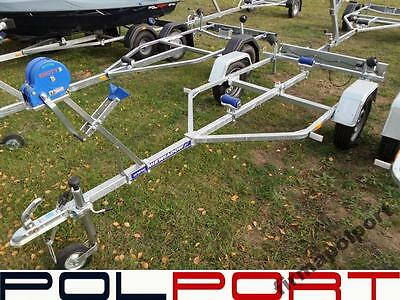Legal Road Trailer 450kg Roller  For Boat Up To 4 Meters 13.5ft Swing Galvanized • 699£