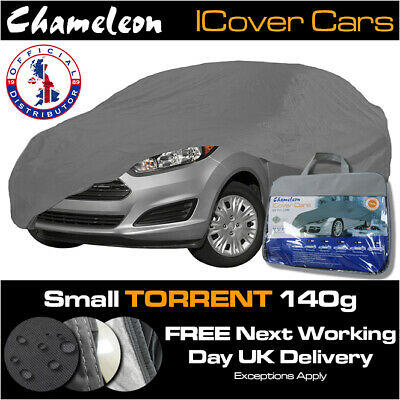 Car Cover (Small) 100% Waterproof Snow-proof UV Protection Heavy Duty 140g • 34£