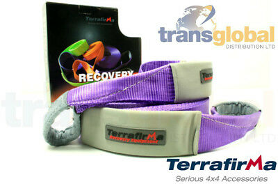 Off Road Recovery 20m Winch Extension Strap 11T Load - Terrafirma - TFES11000 • 59.95£