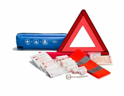 Genuine Ford Focus Mondeo Fiesta First Aid Kit Warning Triangle & Vest 2311429 • 18.99£
