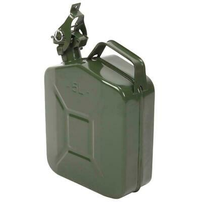 New 5L Jerry Metal Military Can For Petrol Diesel Oil Fuel Water Container  • 12.99£