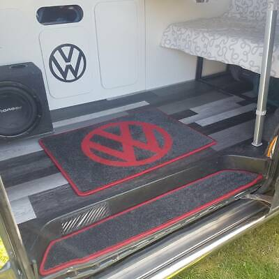 Handmade Vw Style Rugs, Suitable For Home Or Vehicle T4,T5,T6 60cm X 80cm • 39.99£