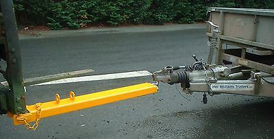 Forklift Tow Ball & Pin Attachment - Single Fork - 1250mm (110x50mm) £175 + VAT • 210£