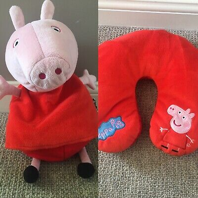 Peppa Pig Reversible Travel Pillow / Soft Toy • 4£