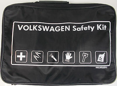 Genuine Vw Breakdown Assistance Safety Kit - First Aid Kit/jump Leads/torch • 29.99£