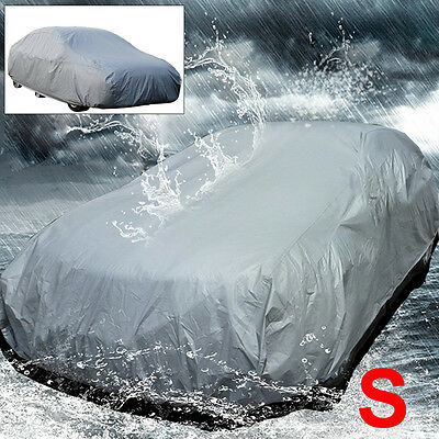 Waterproof Breathable S Size Car Cover UV Protection Small Car Package Universal • 10.99£