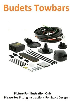 For BMW 5 Series Tow Bar Wiring Est E61 F11 2004 > 2014 7Pin DEDICATED Electrics • 113.52£