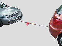 Maypole MP4895 Trailer Towing Hitch Spring Telescopic Tow Pole 1800kg 1.8m • 28.99£