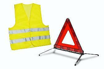 Genuine Peugeot 108 2014-2018 Warning Triangle And Safety Vest - 16179255 80 • 16.94£