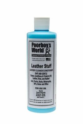Poorboys Leather Stuff Cleaner Conditioner & Protector 473mL • 14.39£