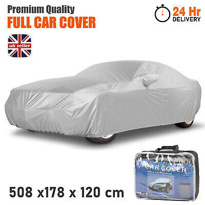 Heavy Duty Waterproof Car Cover Rain Snow UV Protection Outdoor Breathable Large • 14.95£