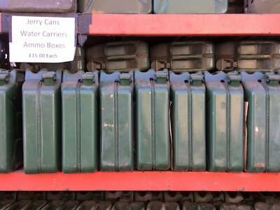 Jerry Cans 20lr-second Hand-good Condition-lots Available • 15£