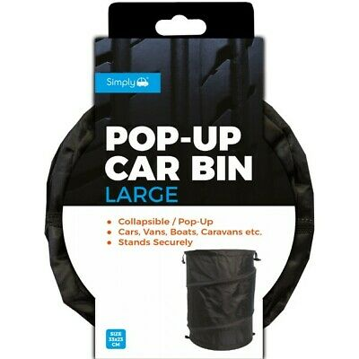 Simply Collapsible Large Trash Car Bin - Free Delivery • 7.99£
