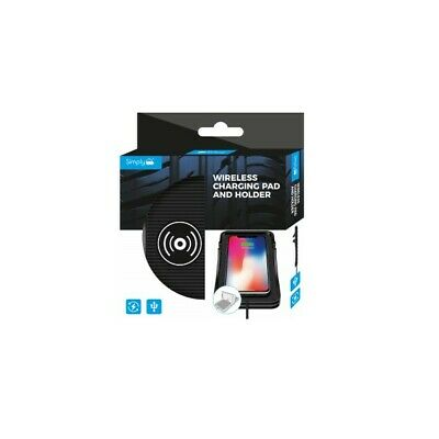 Simply Wireless Phone Holder Mat And Holder - Free Delivery • 12.99£