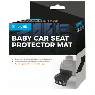 Simply Baby Car Seat Protector Mat - Free Tracked Delivery • 10.99£