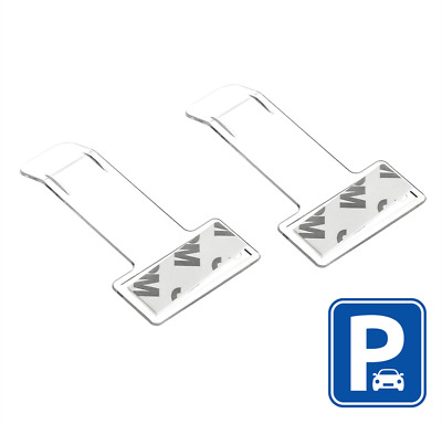 2x Car Vehicle Windscreen Park Parking Ticket Clip Holder Gadget Work Pass • 2.86£