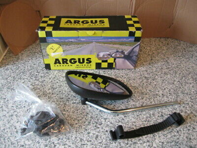 ARGUS CARAVAN MIRROR.Touring/Towing.Car Towing Accessory. • 14.99£