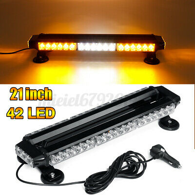 54 Led Car Recovery Light Bar Warning Strobe Beacon Magnetic 7 Flashing Modes • 52.99£