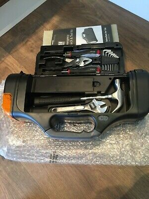 Woolworths Car Travel Safety Set Case Emergency Tools & Torch • 14£