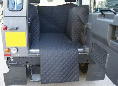 Land Rover Defender 90 SWB 2007-Date Tailored Quilted Waterproof BLACK BootLiner • 119.99£