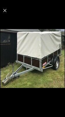 WORMANN 8ft X 4ft Manual Tipping Trailer • 975£