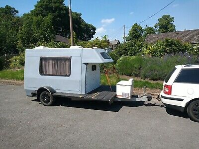 Romahome Pod Teardrop Over Land 4x4 On A Braked Trailer £800 NO RESERVE • 800£