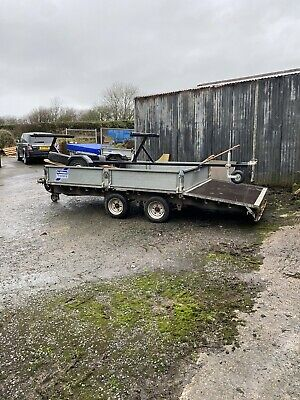 Ifor Williams Beaver Tail 14ft Trailer • 980£