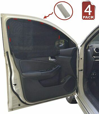 Pack Of 4 Universal Car Magnetic Window Shades • 5£