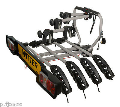 Witter ZX204 Tow Bar Mounted 4 / Four Bike Cycle Carrier • 212.99£
