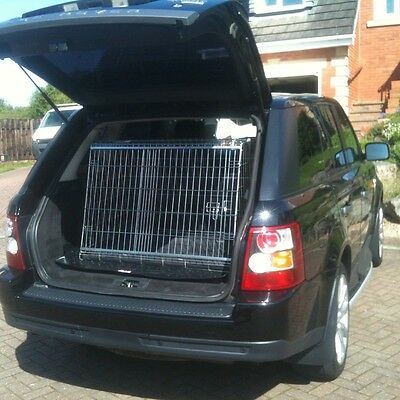 Sloping Dog Pet Puppy Travel Training Cage Crate For RANGE ROVER SPORT  • 113.90£