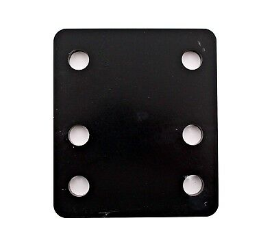 Adjustable Towbar Levelling Drop Plate Steel With 60mm M16 Bolts Trailer Tow Bar • 13.15£