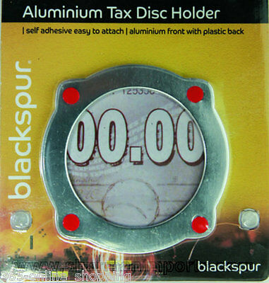 Aluminium Self Adhesive Stick On Vehicle Road Tax Disc Licence Permit Holder • 2.48£