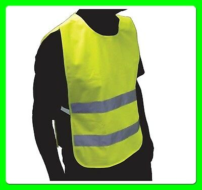 High Visibility Adult Reflective & Fluorescent Safety Vest [SS3614] Pull Over  • 3.25£