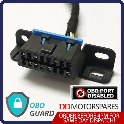 Ford Transit & Connect Obd Guard Dummy Port Security Block Lock Anti Theft  • 12.99£
