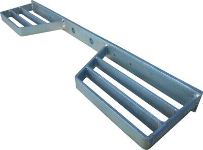 Double Tow Bar STEP High Quality Heavy Duty Fully Galvanised FREE FAST SHIPPING • 28.99£