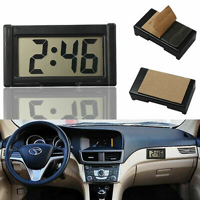 Ultra-thin LCD Digital Display Vehicle Car Dashboard Clock With Calendar Home UK • 3.99£
