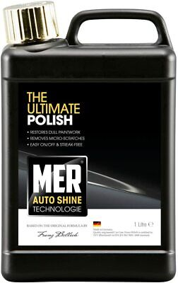 MER - Ultimate Shine Polish - Restores Cleans Shine Protects - 1000ml 1L MASUP1 • 11.95£