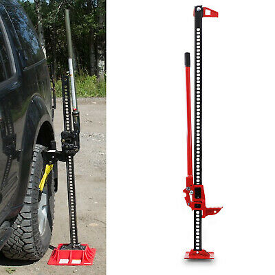 60  771lbs 350kg HIGH LIFT OFF ROAD 4X4 SUV TRACTOR RECOVERY HOIST JACK STAND • 69.99£
