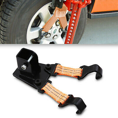 2.5T 2.5 TON 5000lbs HIGH LIFT WHEEL SUPPORT RECOVERY JACK LIFT MATE STRAP BRACE • 24.99£