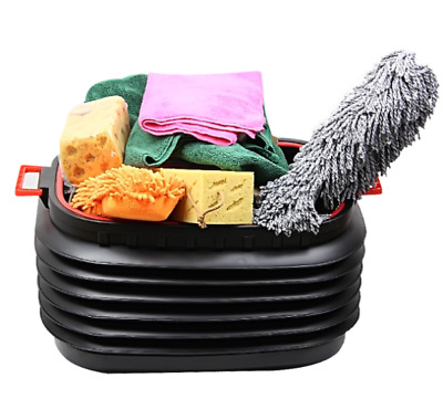 Car Boot Tidy Bag Storage Box Trunk Organiser Travel Holder Foldable Collapsible • 16.99£