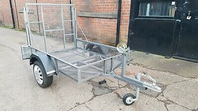 Car Trailer With Ramp/Tailgate & Mesh Floor And Sides - 750kg • 650£